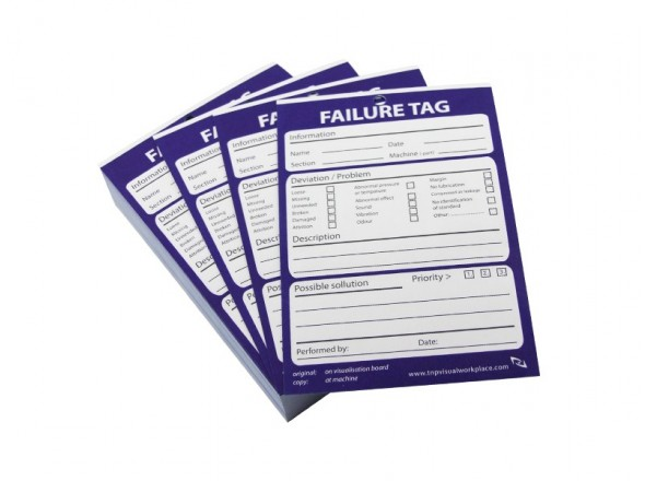 5S Failure tag (engels)